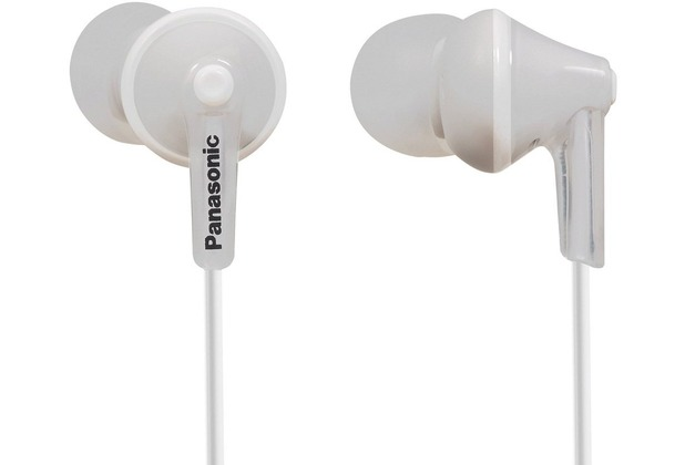 Panasonic In-Ear Stereo Kopfhörer RP-HJE125, weiß