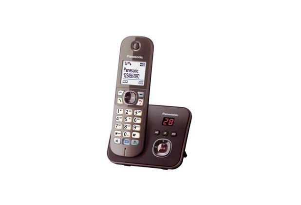 Panasonic KX-TG6821GA, mocca-braun