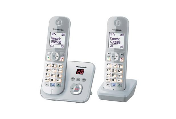 Panasonic KX-TG6822GS Duo, perlsilber