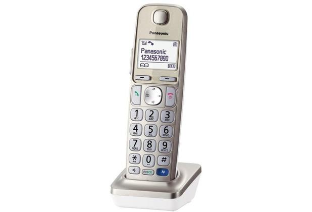 Panasonic KX-TGEA20, champagner, opt. Mobilteil für KX-TGE210/220/222