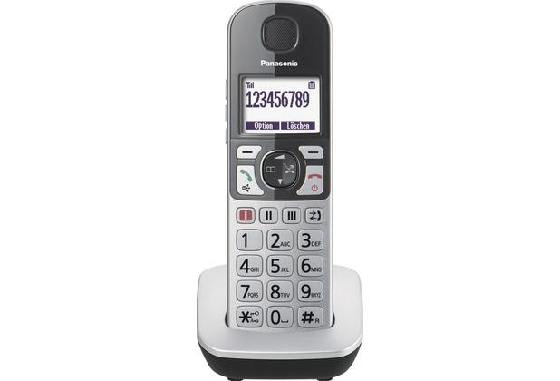 Panasonic KX-TGQ500GS, silber-schwarz