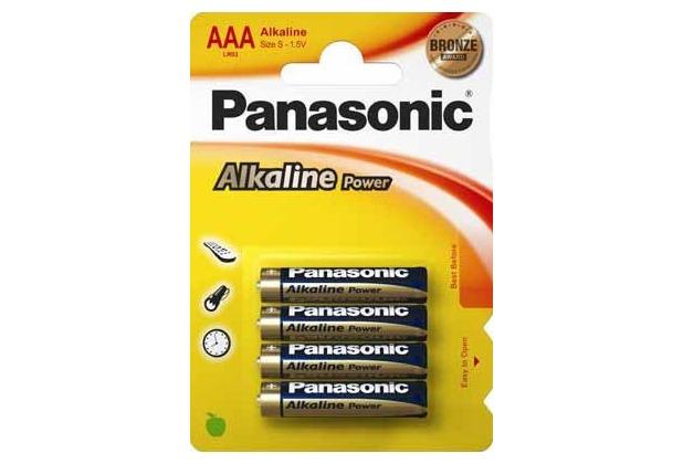 Panasonic LR03APB/4BP (AAA) Alkaline Power 4er Blister,