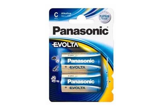 Panasonic LR14EGE/2BP Evolta 2er Blister,