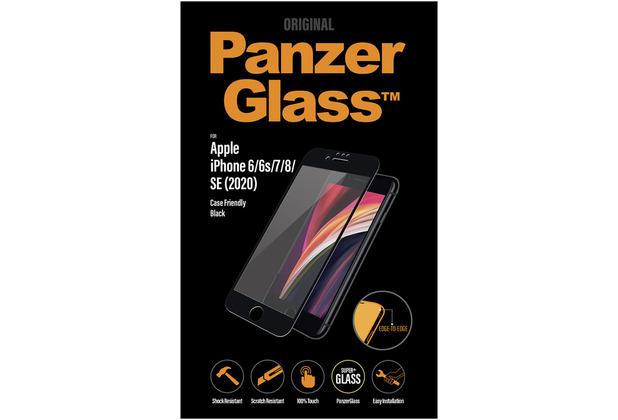 "PanzerGlass Apple iPhone 6/7/8/4.7\"" 2020 Case Friendly, Black"