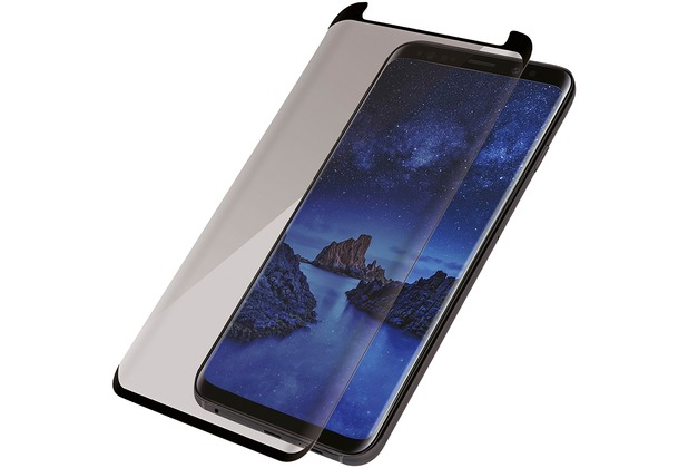PanzerGlass Case Friendly Privacy for Galaxy S9 black