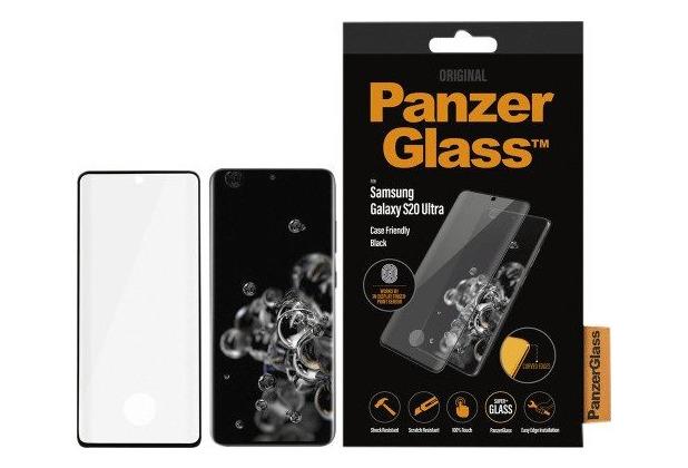 PanzerGlass CaseFriendly Fingerprint für Galaxy S20 Ultra black