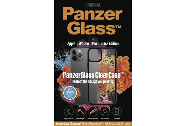 PanzerGlass ClearCase with BlackFrame for Apple iPhone 11 Pro