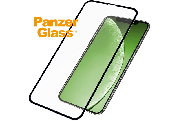 PanzerGlass Edge to Edge for iPhone 11 / XR black