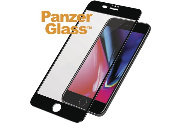PanzerGlass Edge to Edge for iPhone 6+/6s+/7+/8+ black