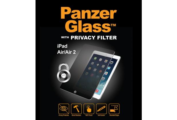 PanzerGlass Displayschutz für iPad Air / Air 2 Privacy