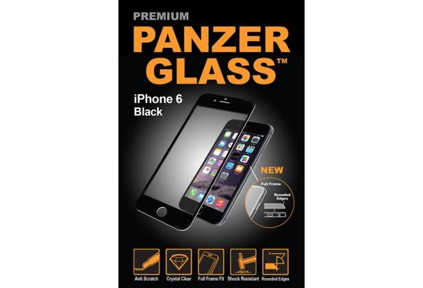 PanzerGlass Displayschutz PREMIUM für iPhone 6 / 6s Black Edge Grip