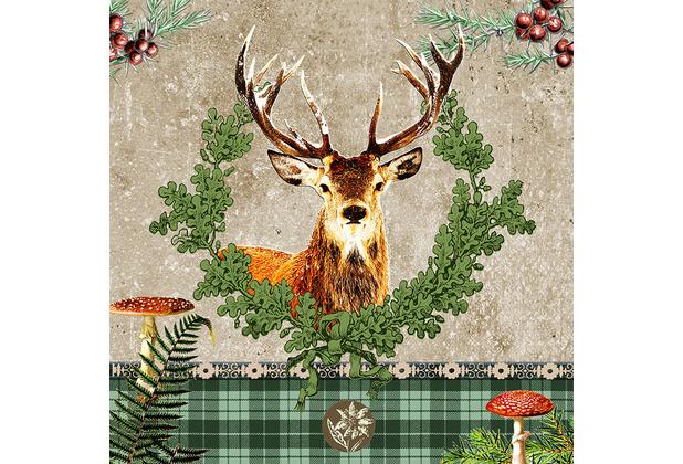 Paper+Design Servietten Tissue 33 x 33 cm Alfred 20er Pack