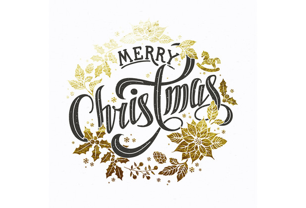 Paper+Design Servietten Tissue 33 x 33 cm Christmas wreath 20er Pack