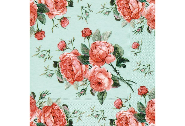 Paper+Design Servietten Tissue Biedermeier 33 x 33 cm 20er