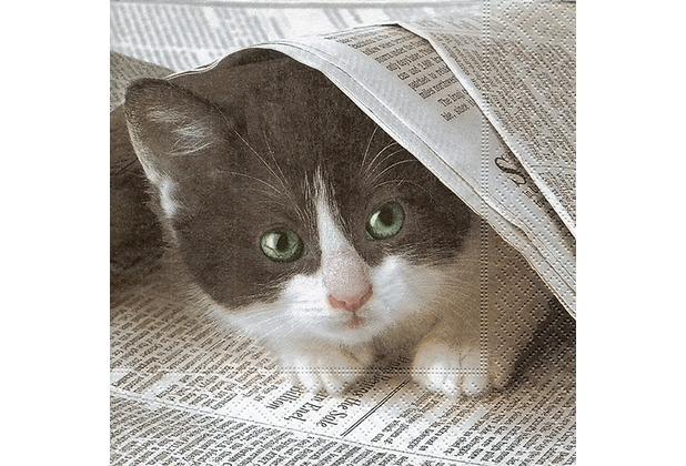 Paper+Design Servietten Tissue Good news? 33 x 33 cm 20er