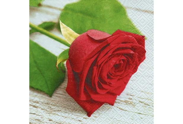 Paper+Design Servietten Tissue Lovely rose 33 x 33 cm 20er