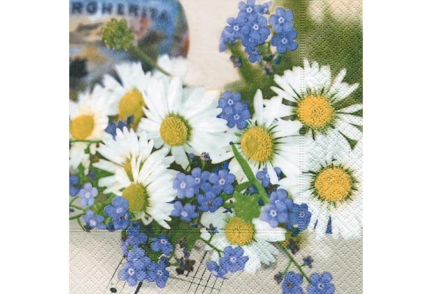 Paper+Design Servietten Tissue Summer melody 33 x 33 cm 20er