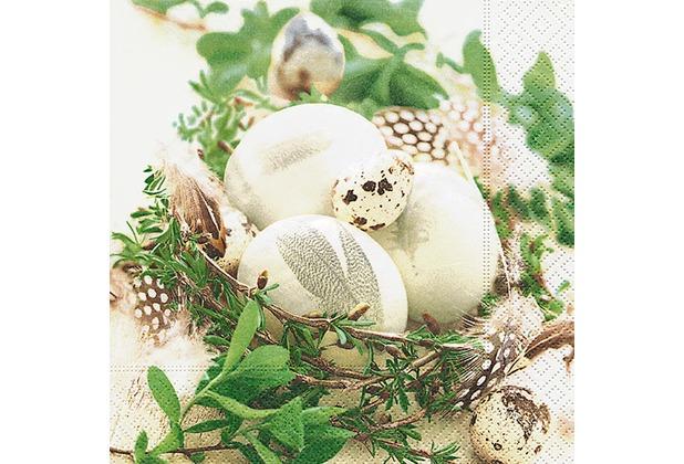 Paper+Design Tissue Servietten Bird Nest 25 x 25 cm 20 Stück