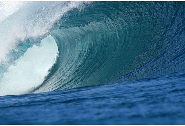 papermoon Fototapete Big Wave Big Barrel 7 Bahnen 350 x 260 cm Vlies