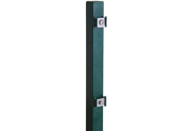 Peddy Shield Pfosten für Doppelstab- und Einstabmatten 1700x40x40mm in RAL 6005 - grün