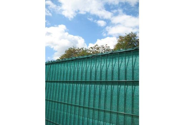 Peddy Shield Sichtschutz HDPE, grün, incl. Kordel, 140 cm x 500 cm Länge