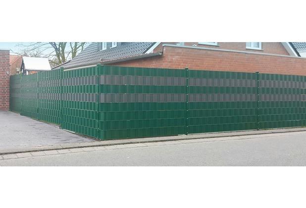 Peddy Shield Sichtschutz PVC 25m x 190mm grün (RAL 6005)