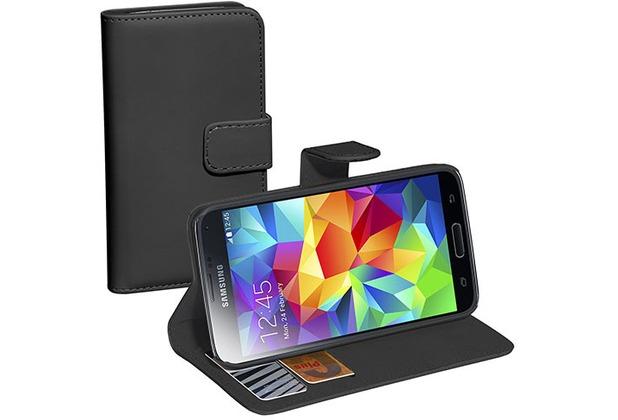 Pedea BookCover Classic für Samsung Galaxy S5 mini, schwarz