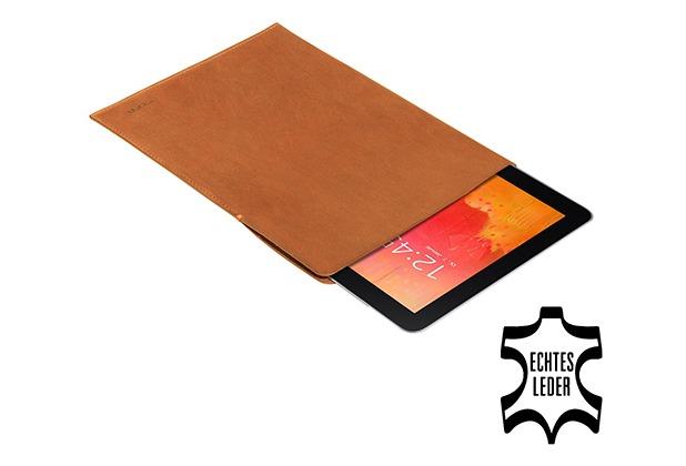 Pedea Echtledertasche Tennessee für Note & Tab Pro 12.2, Cognac
