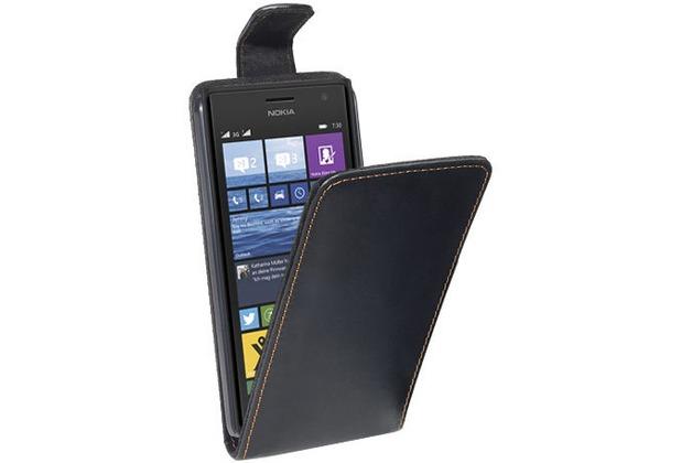 Pedea FlipCover für Nokia Lumia 730, schwarz