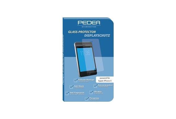 Pedea Glas Displayschutz für Apple iPhone 11 Pro / XS / X