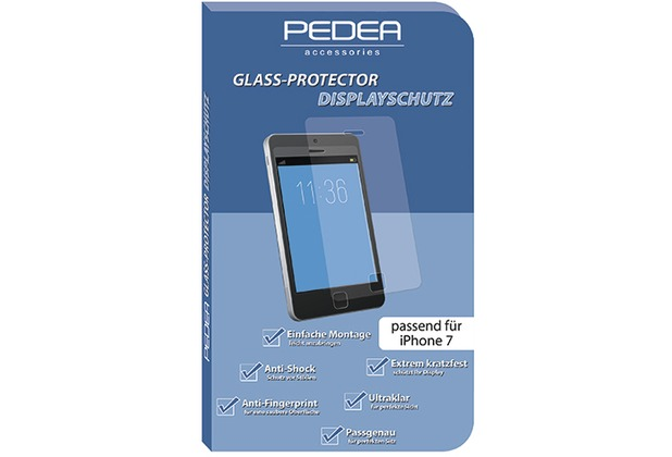 Pedea Glasschutzfolie für Apple iPhone 7