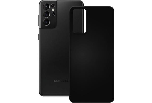 Pedea Soft TPU Case für Samsung Galaxy S21 Ultra, schwarz