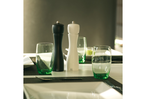 Peugeot Salz- und Pfeffermühle TAHITI DUO matt schwarz-weiß 20cm