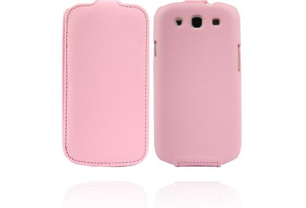 Twins Flip für Samsung Galaxy S3, pink
