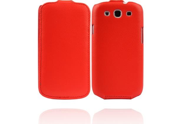 Twins Flip für Samsung Galaxy S3, rot