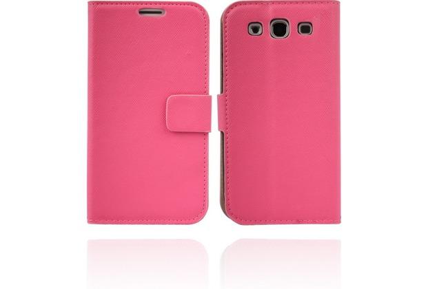 Twins BookFlip für Samsung Galaxy S3, pink