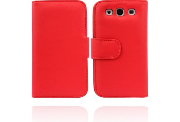 Twins Premium BookFlip für Samsung Galaxy S3, rot