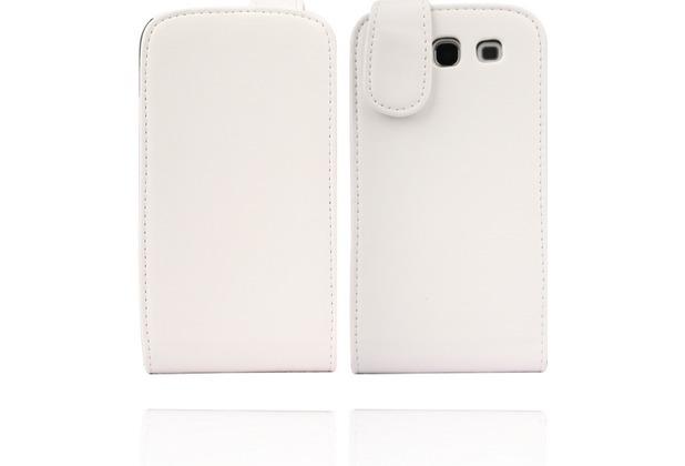 Twins Flip-Flap für Samsung Galaxy S3, weiß