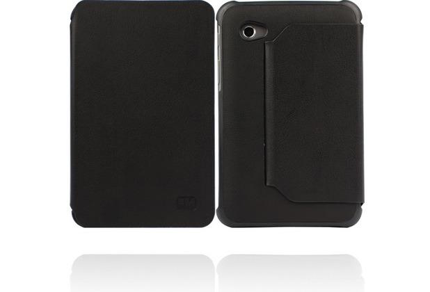 Twins Hugging Bookflip für Samsung Galaxy Tab 2 7.0, schwarz