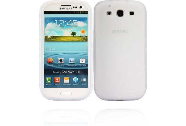 Twins Soft für Samsung Galaxy S3, transparent-weiß