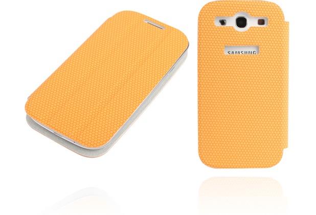 Twins Slim BookFlip für Samsung Galaxy S3, orange