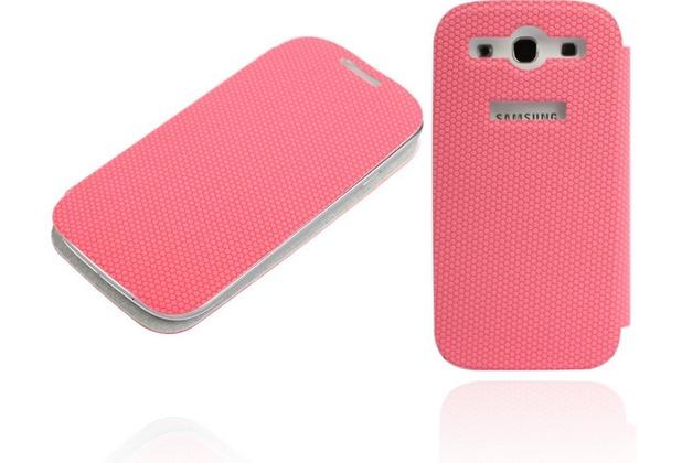 Twins Slim BookFlip für Samsung Galaxy S3, pink
