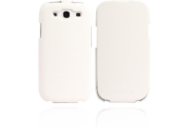 Twins Flip Logo für Samsung Galaxy S3, weiß