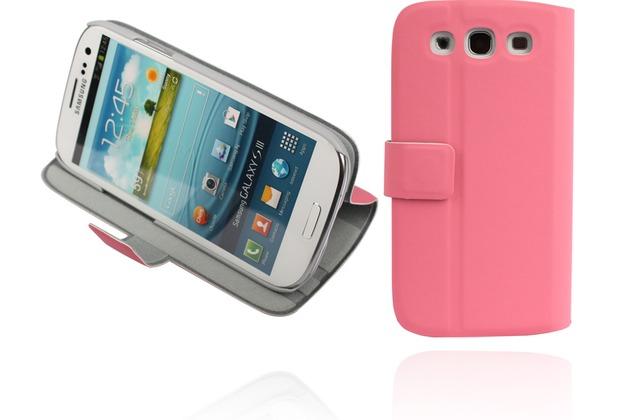 Twins BookFlip Neo für Samsung Galaxy S3, rosa