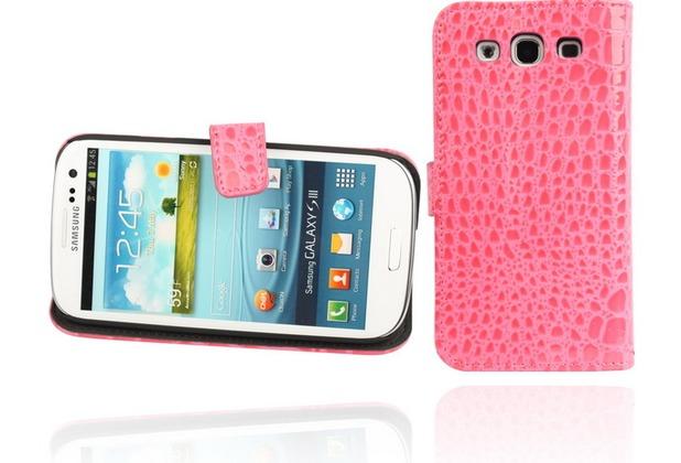 Twins BookFlip Pink Dragon für Samsung Galaxy S3