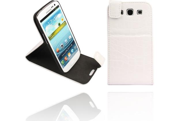 Twins Flip-Flap White Dragon für Samsung Galaxy S3