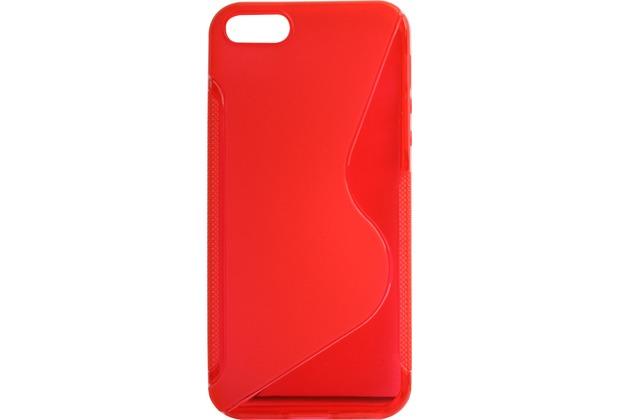 Twins Fancy Bright für iPhone 5/5S/SE, rot