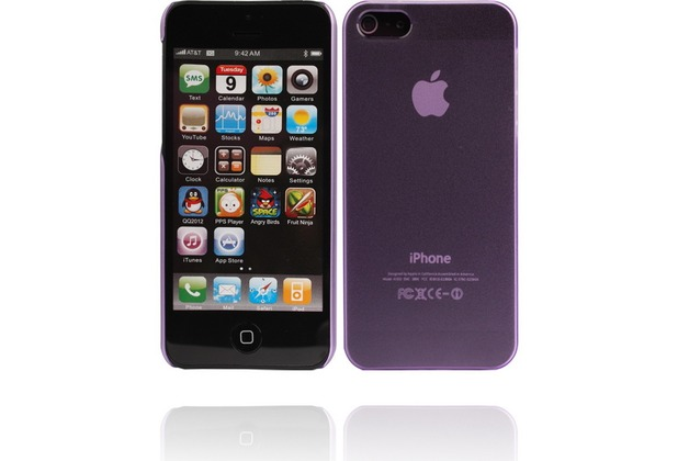 Twins Micro für iPhone 5/5S/SE, lila
