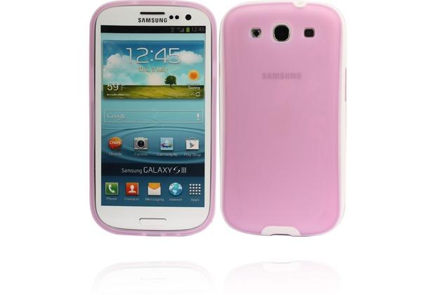 Twins White Edge für Samsung Galaxy S3, lila