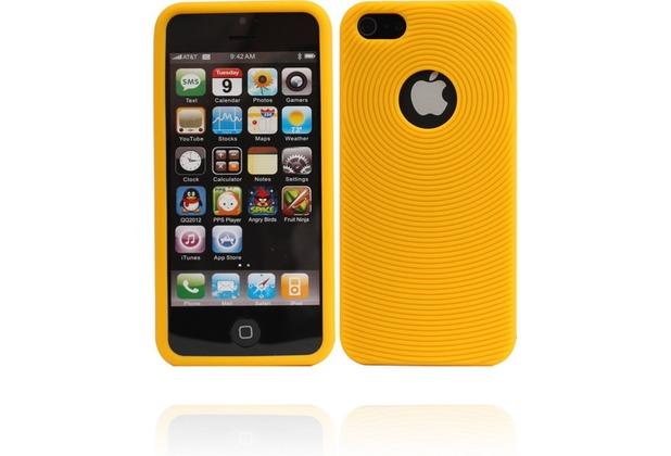 Twins Sili Swirl für iPhone 5/5S/SE, gelb